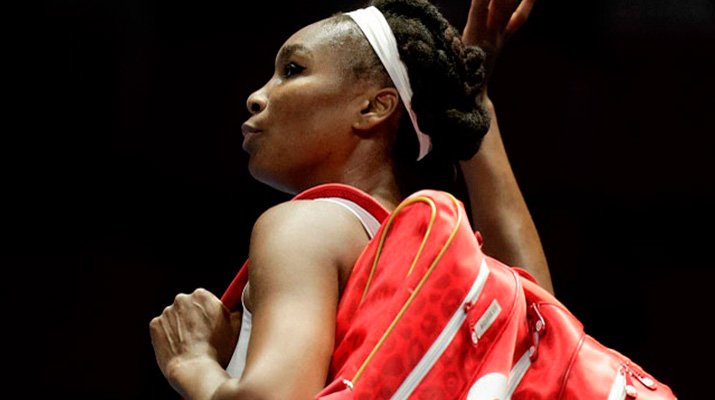 Venus Williams cayó en San Petersburgo