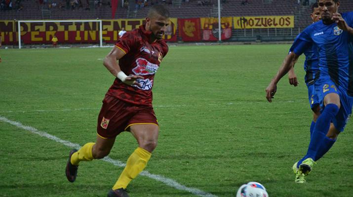 El Anzoátegui cayó frente al Zulia FC