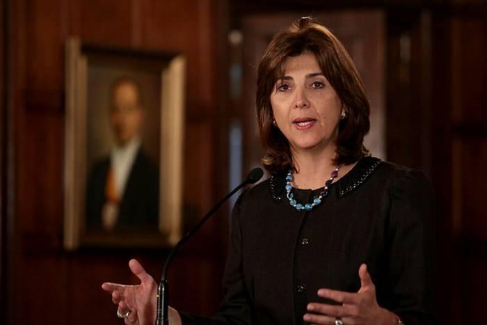 Holguín aseguró que Colombia no tiene constancia de movilizaciones a Venezuela