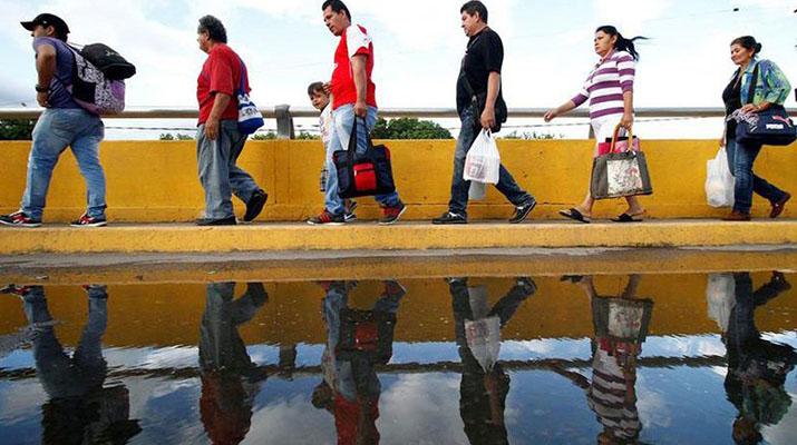 Gobierno niega  migración masiva  a Venezuela