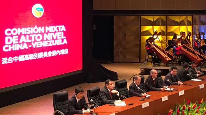 Se instala en Caracas XV reunión de alto  nivel China-Venezuela