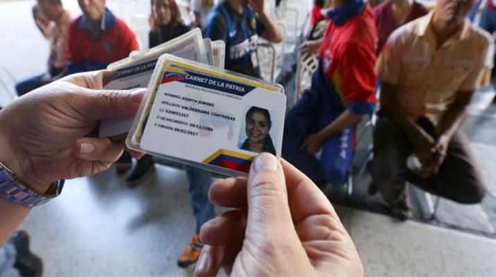 Registro del Carnet de la Patria llegará  a área educativa