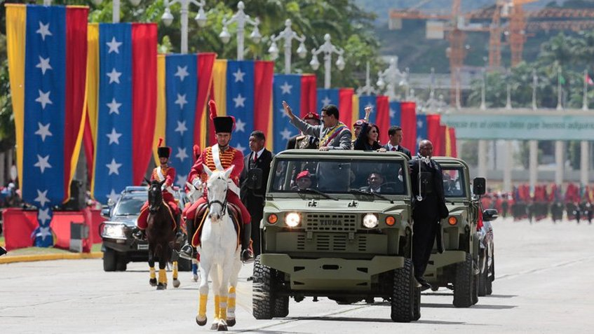 La Fuerza Armada Nacional se declaró «antioligárquica y zamorista»