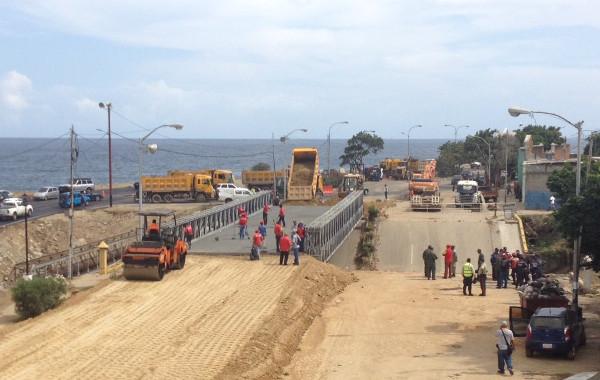 Gobierno activará plan de inspección de puentes en todo el país