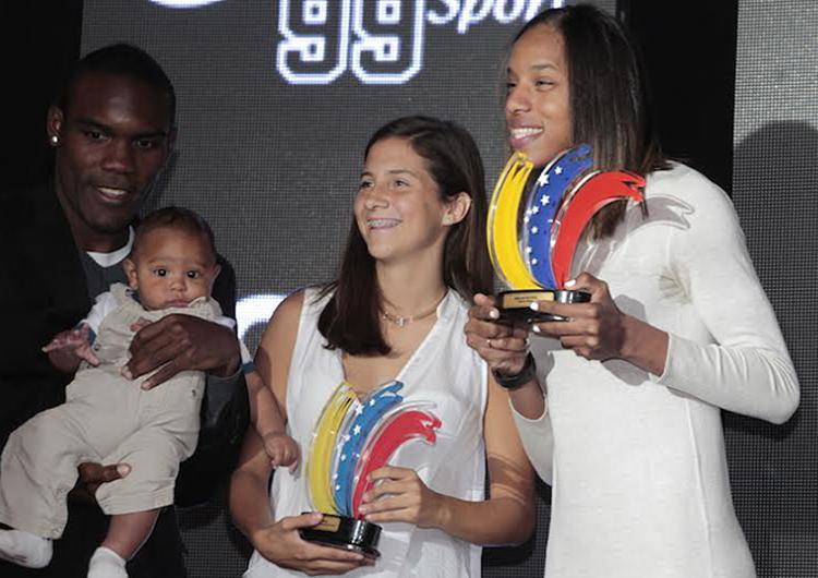 Yulimar Rojas se llevó la atención en la Gala del Deporte