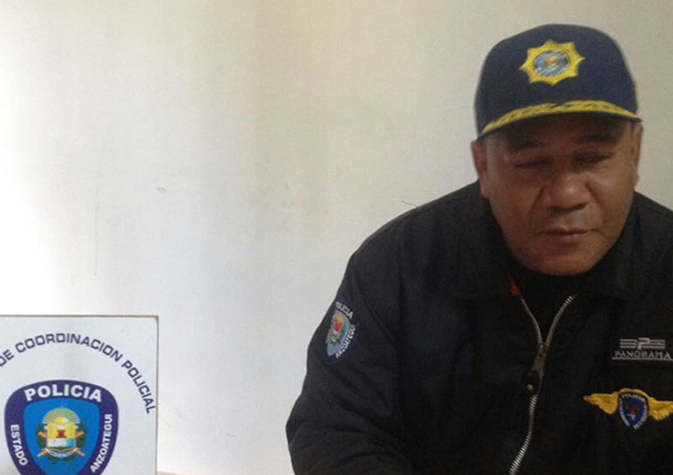 Nuevo jefe asume riendas del Centro de Coordinación Policial de San José de Guanipa