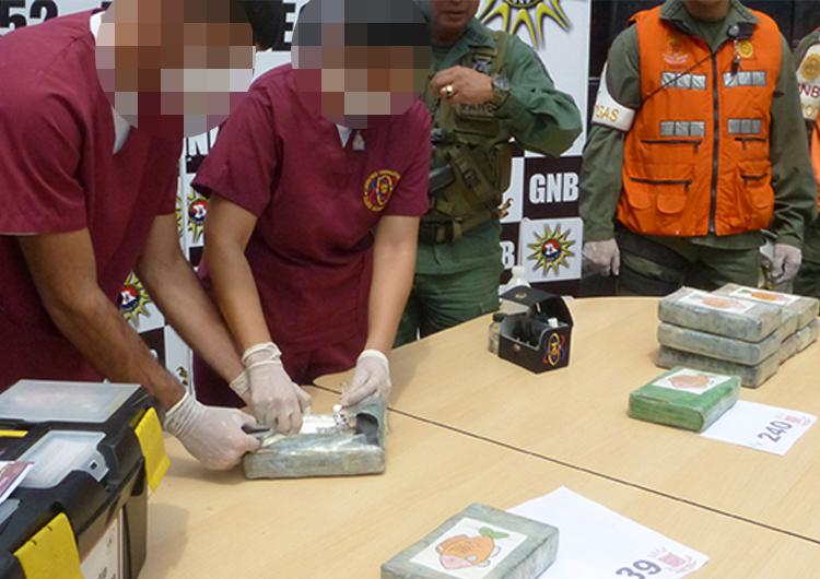 GNB incautó 641 kilos de droga en lo que va de 2017