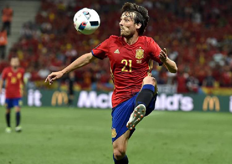 Silva lideró el triunfo español