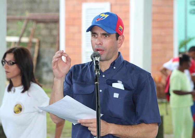 Capriles: Queremos que se respete la Constitución