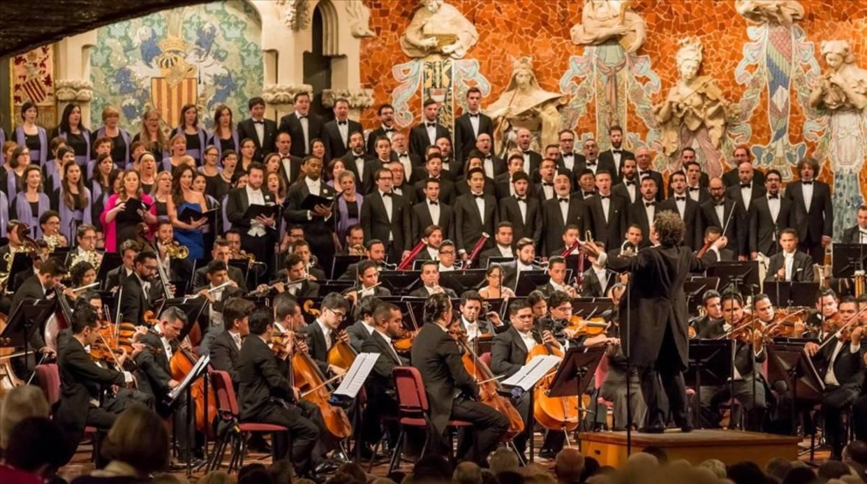 Orquesta Simón Bolívar continua su gira europea