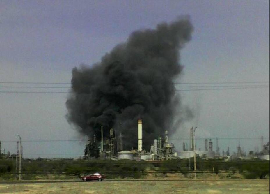 Incendio en la refinería Amuay fue controlado