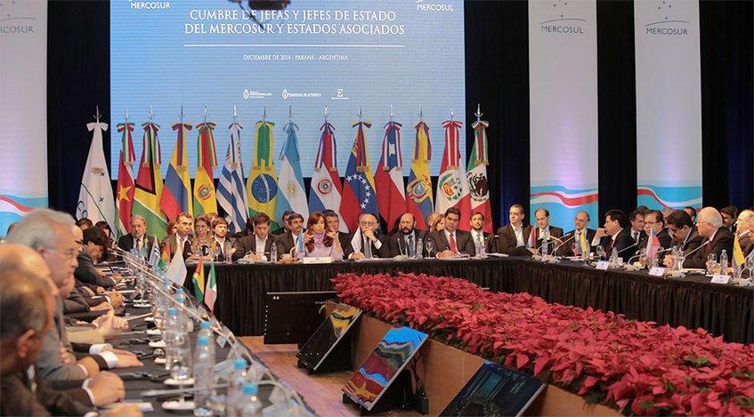 Maduro ratifica compromiso de Venezuela con Mercosur