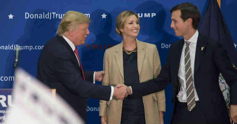 El Senado de EEUU investiga al yerno de Trump por su relación con Rusia
