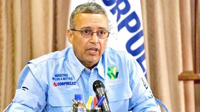 Motta Domínguez desmintió que se estén realizando racionamientos eléctricos