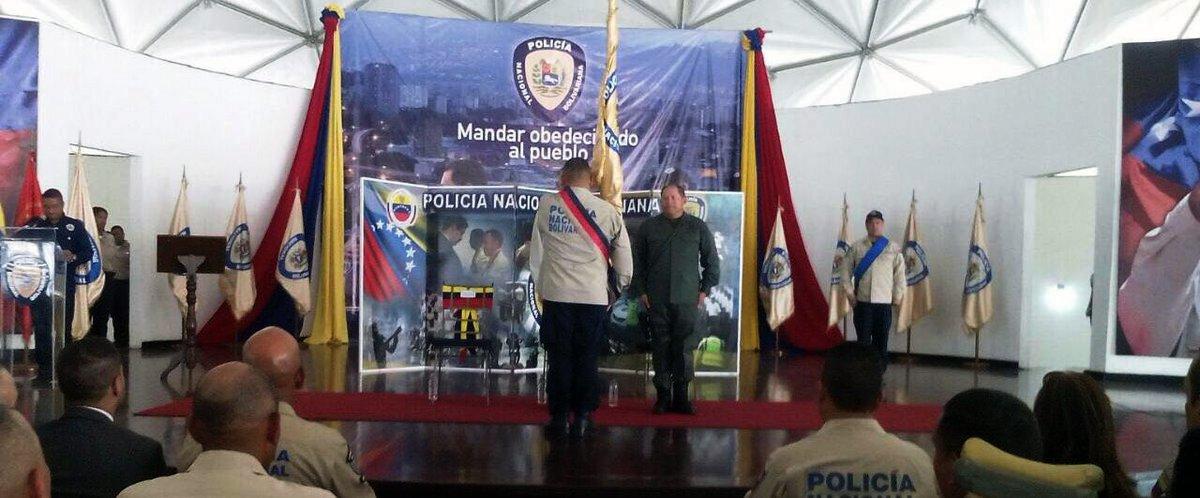 Alfredo Pérez Ampueda designado como nuevo director de la Policía Nacional Bolivariana