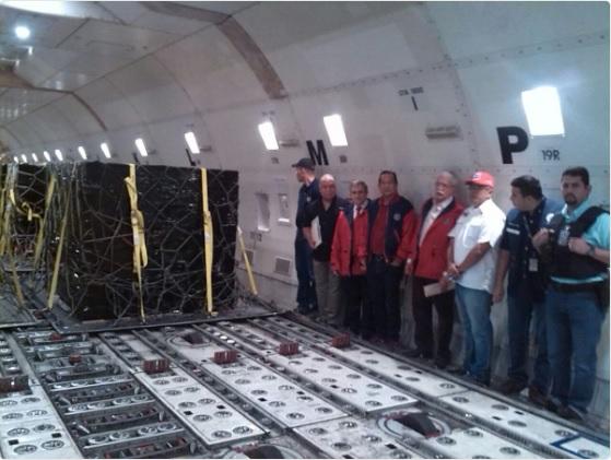 600 cajas con billetes de 10 mil bolívares arribaron al país