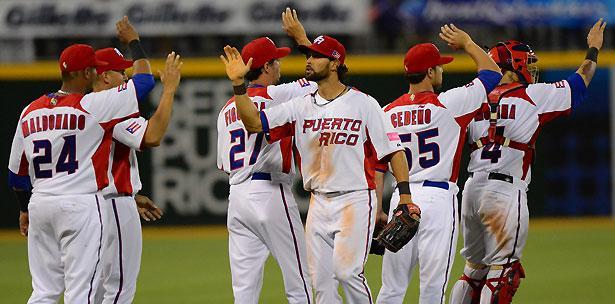 Puerto Rico derrotó por nocaut 11-0 a Venezuela en el Clásico Mundial de Béisbol