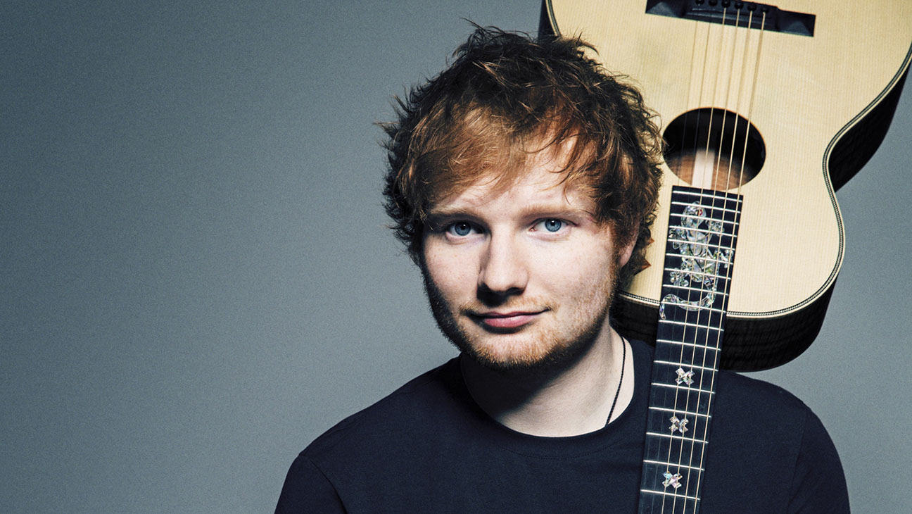 Ed Sheeran domina las listas de Reino Unido