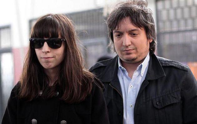 Hijos de Cristina Fernández declaran a juez por corrupción