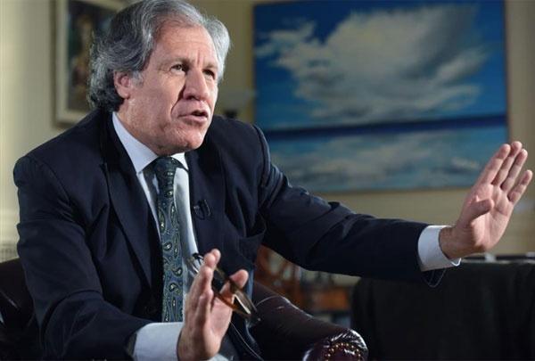Almagro agradeció apoyo del Senado de EE UU a invocar Carta Interamericana en Venezuela