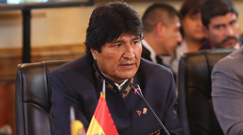 Presidente Evo Morales vuelve a Cuba para seguir tratamiento médico