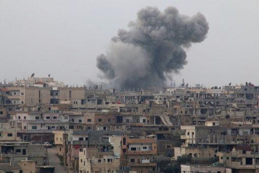 Ataque suicida frente al Palacio de Justicia en  Damasco dejó 39 muertos  y múltiples heridos