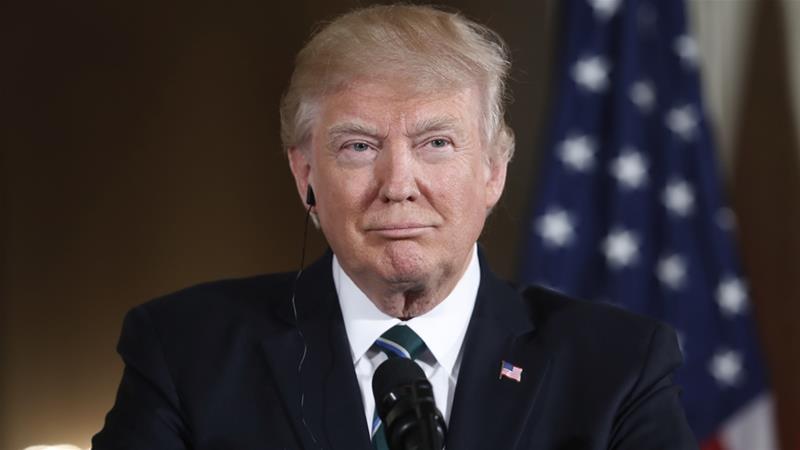 Tasa de aprobación del presidente Donald Trump descendió al 37 %