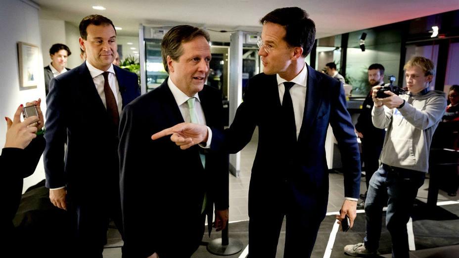 Líderes de Europa celebran la victoria sobre la extrema derecha en comicidios holandeses