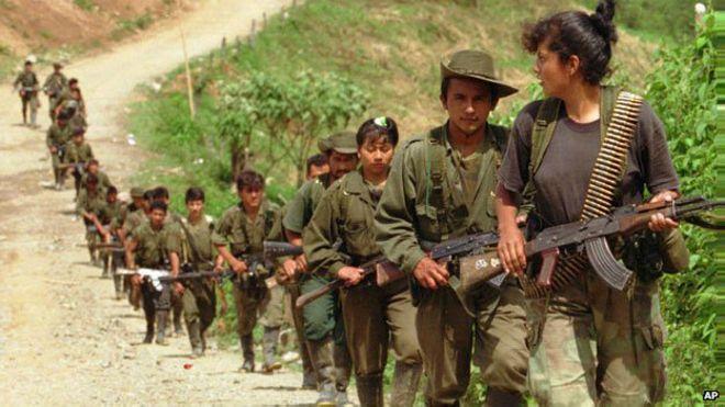 Comenzó la salida de menores de edad de las zonas de concentración de las FARC