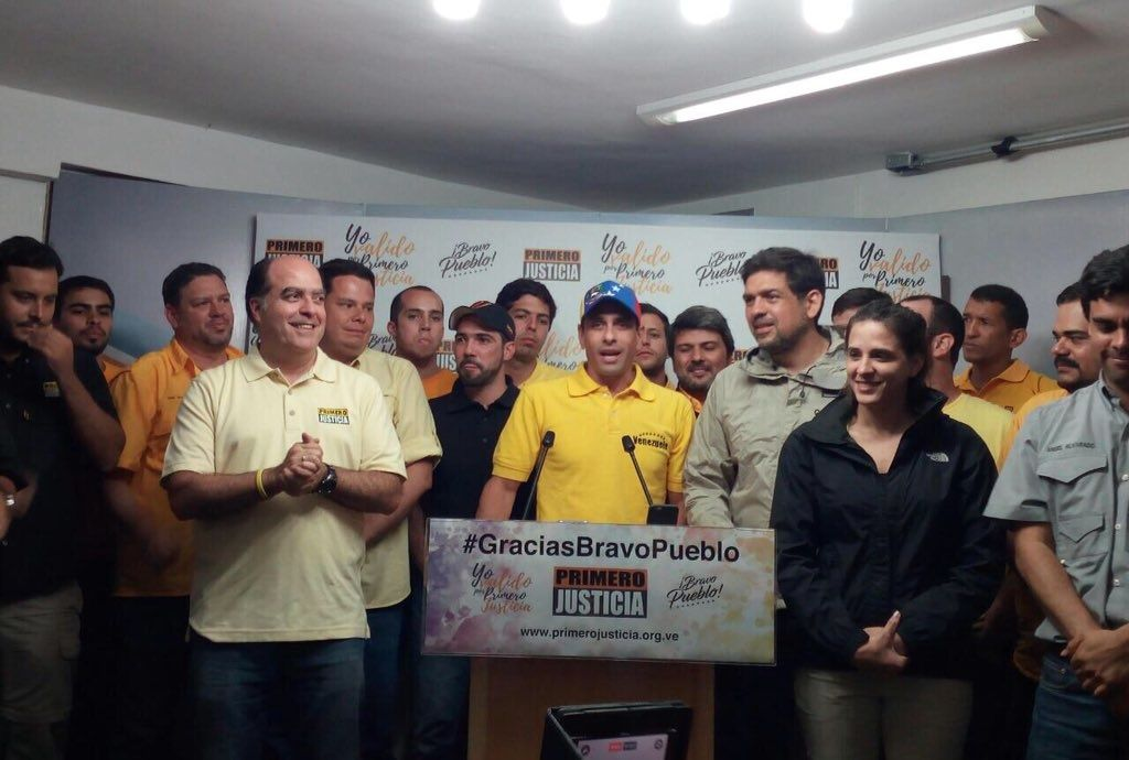 Capriles: Primero Justicia logró validarse con casi 200 mil firmas