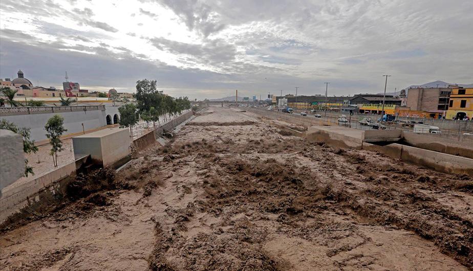 Inundaciones dejó más de 56 mil damnificados en Perú