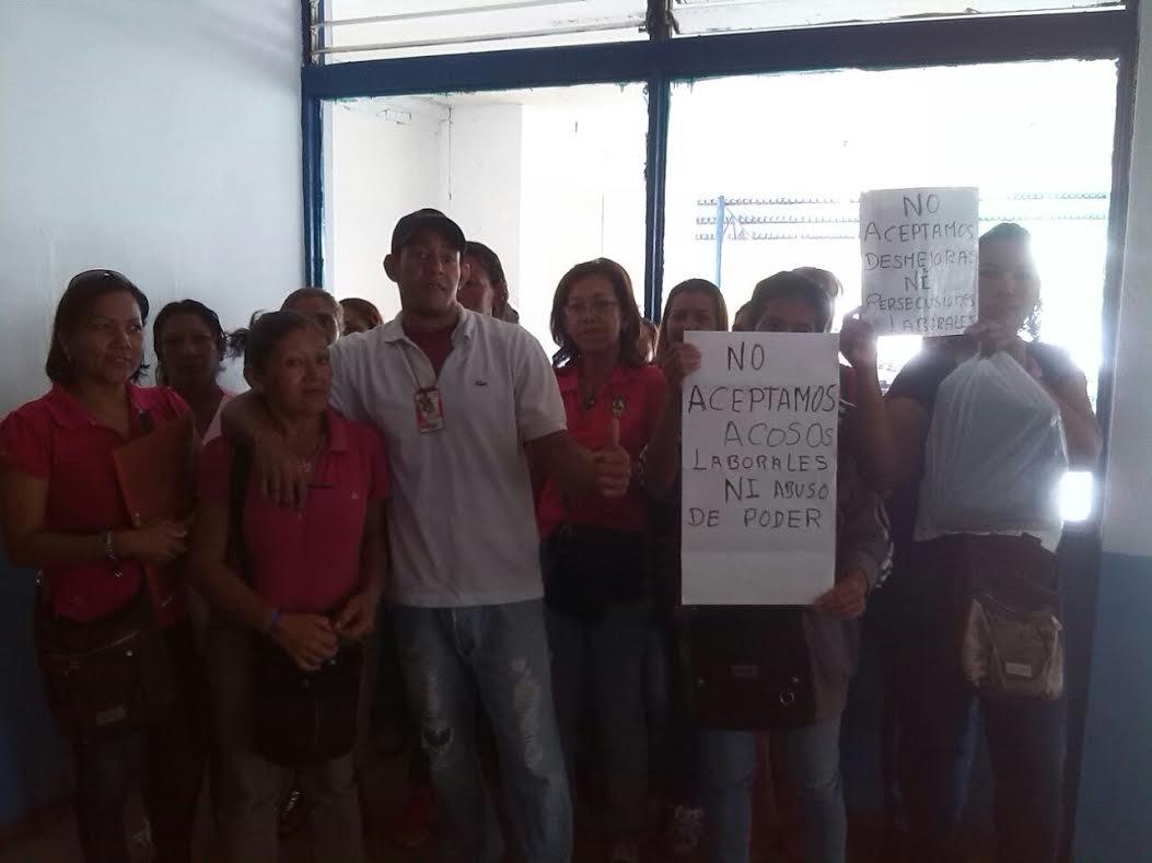 Protestan en el hospital de Cantaura