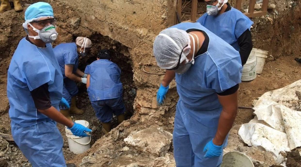 MP investiga  identidades de cuerpos hallados en la PGV