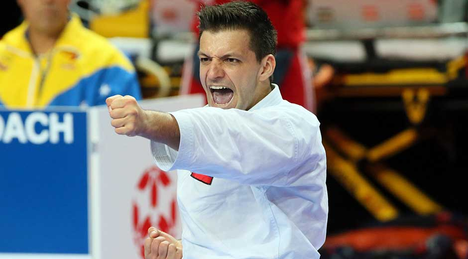 Criollo Antonio Díaz estará en la Premier League de karate