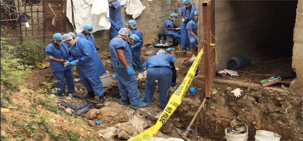 Han verificado 14 cadáveres desenterrados en PGV