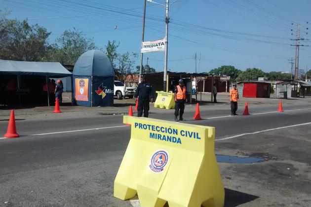 Accidentes de tránsito se redujeron un 20% en Miranda durante asueto de Carnaval