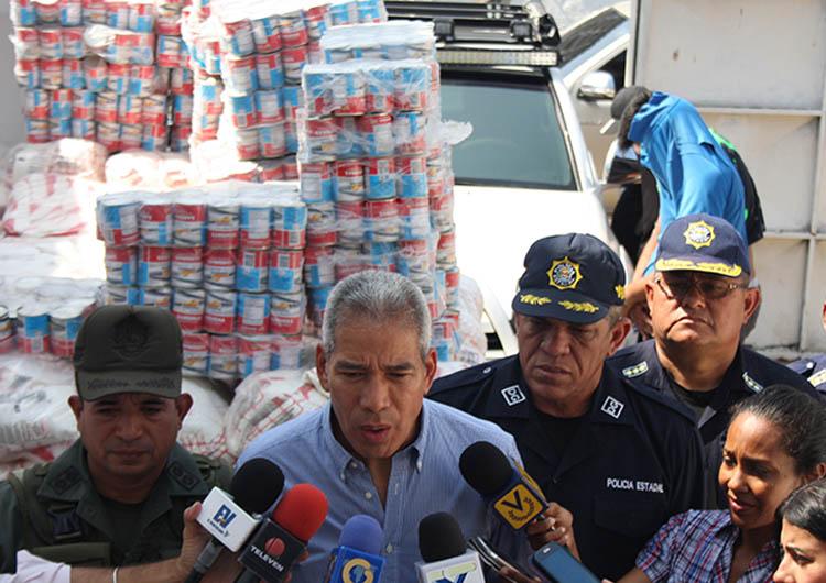 Cuerpos de seguridad inspeccionarán almacenes de alimentos en zona industrial