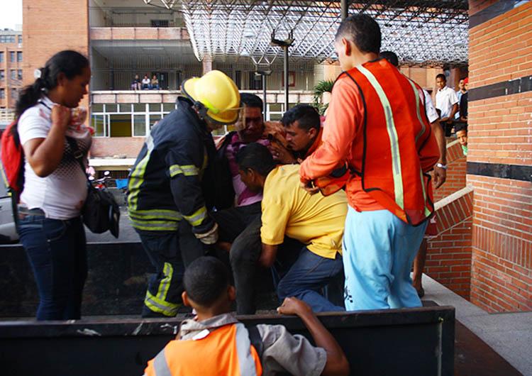 Cinco heridos ingresaron a hospitales anzoatiguenses