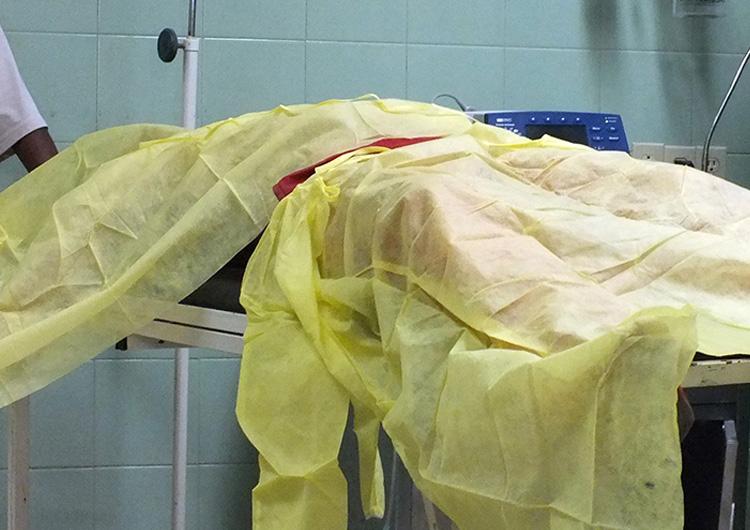 Murió electrocutado tras hurto de bomba