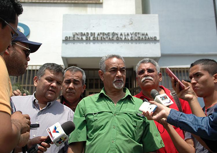 Miembros del PSUV denuncian hechos violentos  ante el MP