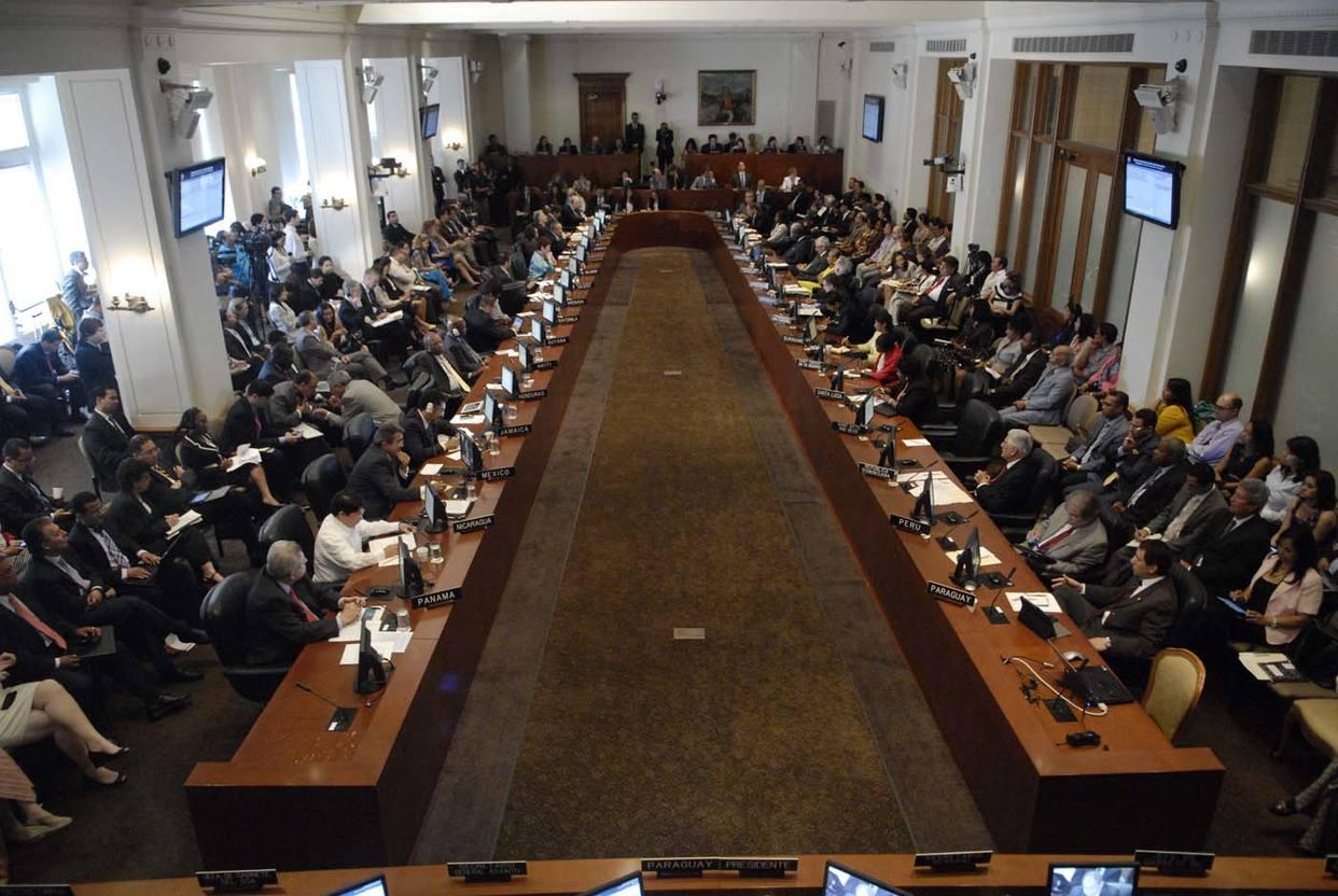 Suspendieron sesión de la OEA sobre Venezuela
