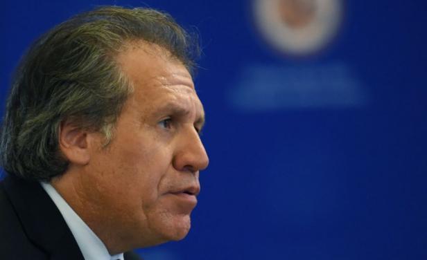 Almagro rechazó violencia en movilización de la oposición