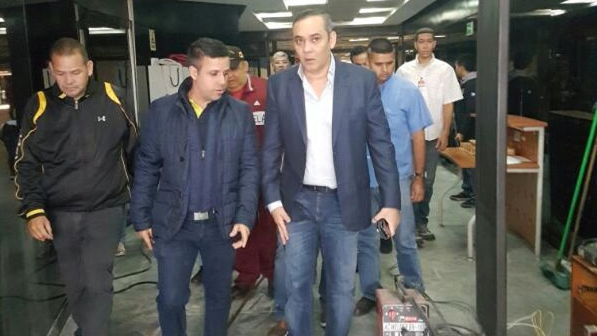 Maikel Moreno hizo llamado a la paz y rechazó el ataque