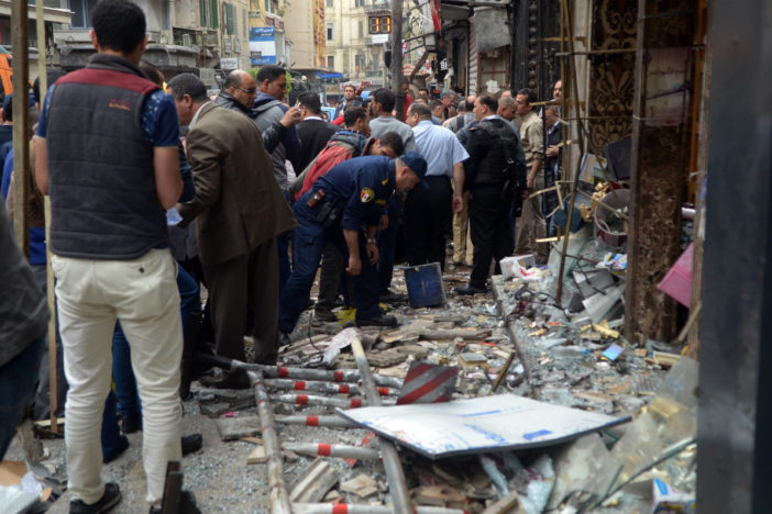 Egipto decretó el estado de emergencia tras ataques a iglesias