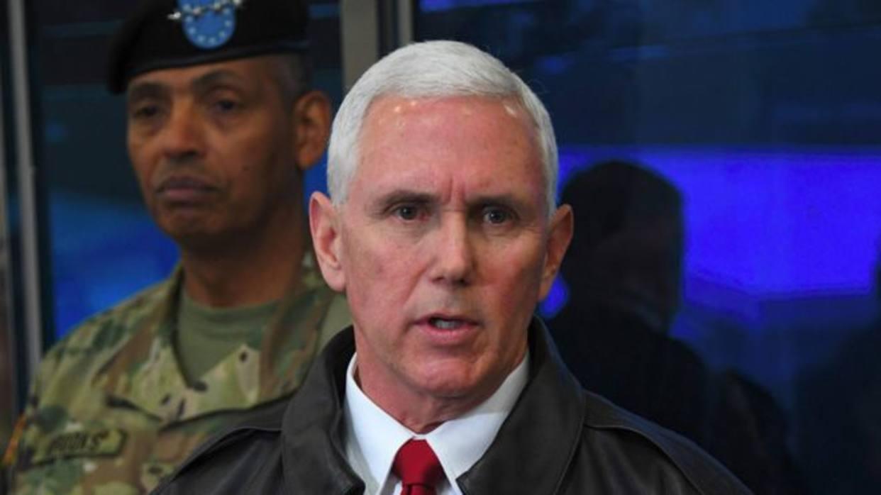 Pence: La paciencia de Washington hacia Corea del Norte ha terminado