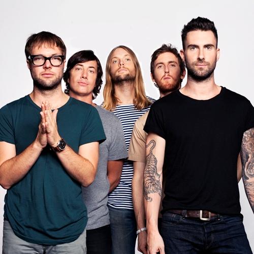 Maroon 5 destinará parte de las ganancias de su conciertoadamnificados