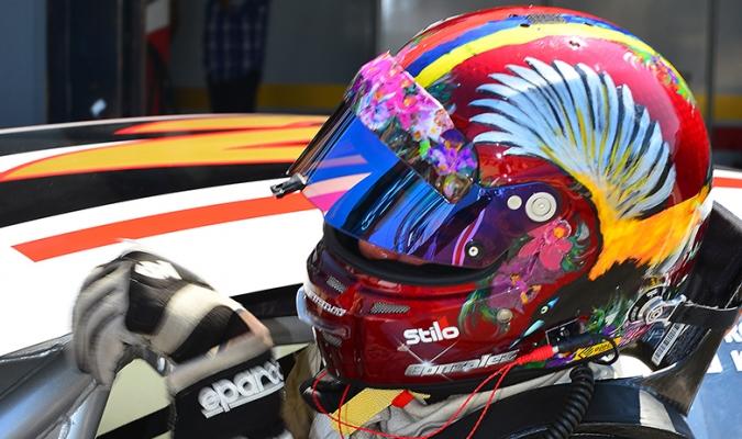 «Speedy» González terminó en el top ten de la II Válida Nascar