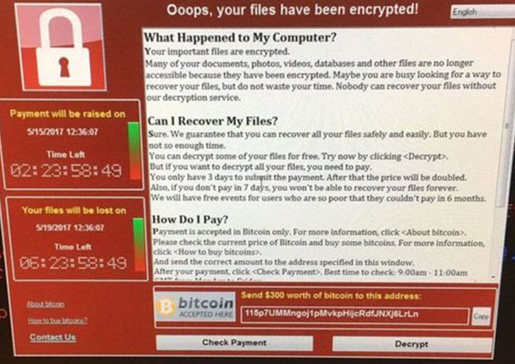 'WannaCry' el virus que secuestra tu PC
