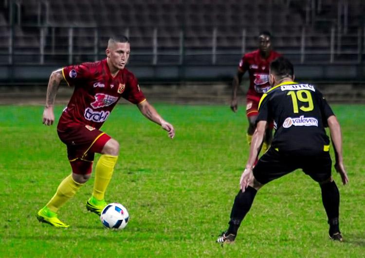 Danz ganó 2-0 al Lara en Cabudare