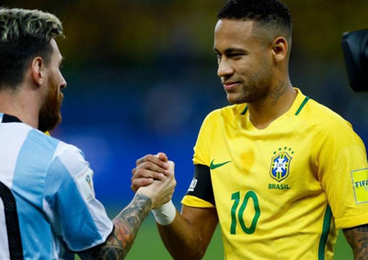 Neymar no estará en amistosos de Brasil